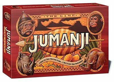 Jumanji Original Board Game - NEW - Factory sealed - age 8+ 2-4 players  FAMILY