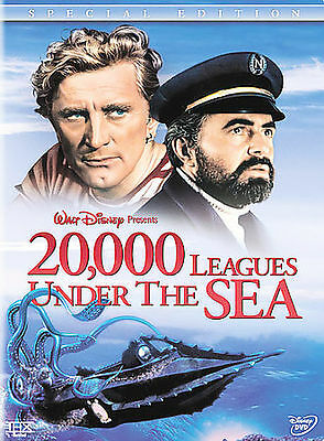 20,000 Leagues Under The Sea DVD New Kirk Douglas James Mason Two-Disc Set