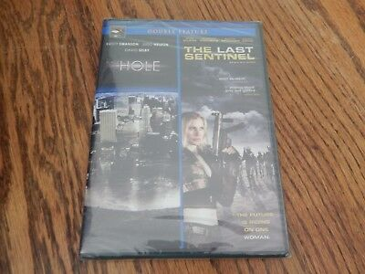 """""""The Black Hole"""" & The Last Sentinel""""; Action Double Feature/DVD/New"""