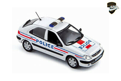CITROËN XSARA 2 2001 - Voiture police nationale France - 1/43 NOREV 154321