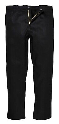 BZ30  FLAME RESISTANT TROUSERS PORTWEST BIZWELD black