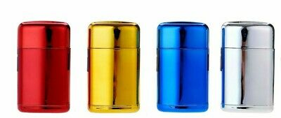 Prof Mirror Capsule Cigarette Lighter, Windproof Refillable Lighter