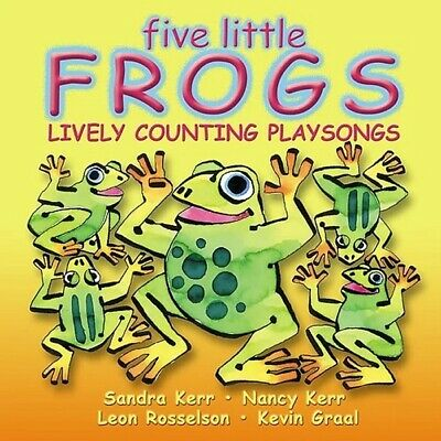 NEW! FIVE LITTLE FROGS SINGALONG CD Songs Rhymes Kids Nursery Music Playsongs
