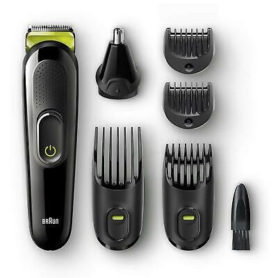 Braun 6-in-1 Men's Beard Trimmer & Hair Clipper Shaver Styling Kit Set - MGK3021