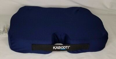 Kabooti Seat Cushion Half Zip Orthopedic Wedge Shaped Donut Removable Case