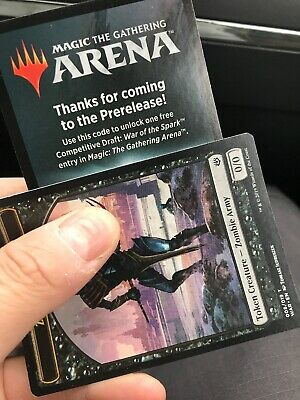 Mtg Magic War of the Spark Free Draft Arena Code EMAIL ONLY Limit 1 Per Account