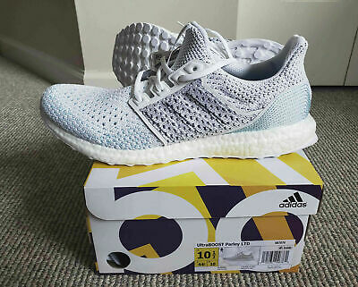 57c46cac7c2ad New Adidas Ultraboost Parley Ltd White Blue Clima Running Shoes Bb7076 Size  10.5