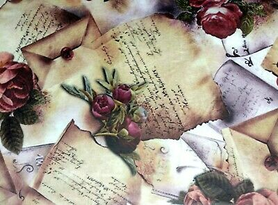 Rice Paper for Decoupage, Scrapbooking, Sheet Craft Vintage Roses Picture 1