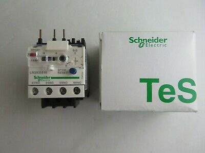 New Schneider Electric Lr2 K0316 Thermal Overload Relay Tesys 023058 Lr2K0316