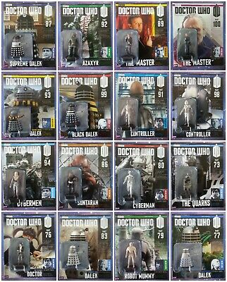 Doctor Who Eaglemoss Figurine Collection Issues 1 to 139 Model Figure Lot
