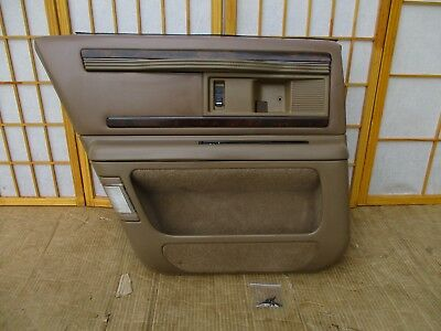 1991 Volvo 240 Sedan Left Rear Door Interior Trim Panel