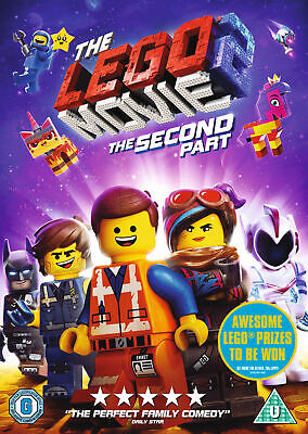 The LEGO Movie 2: The Second Part (DVD) Chris Pratt, Elizabeth Banks