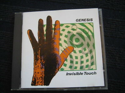 CD  GENESIS  Invisible Touch  8 Tracks  Sehr guter Zustand