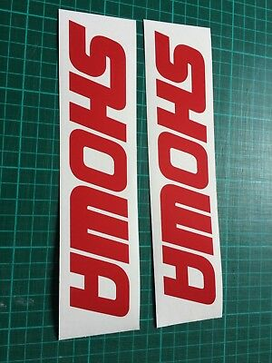 SHOWA 150mm  Race motoGP Sticker Decal all colours