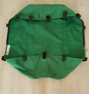 Bugaboo Gecko carrycot bassinet base cover only green fabrics