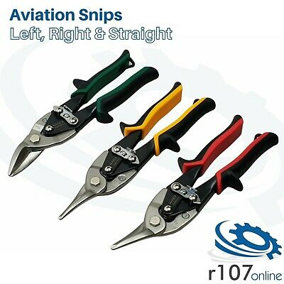 Blue Point Aviation Tin Snips Set, L R & S Cut, Incl. VAT. As sold by Snap On.