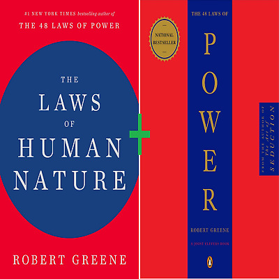 The Laws of Human Nature + The 48 Laws of Power by Robert Greene {PDF KINDLE}