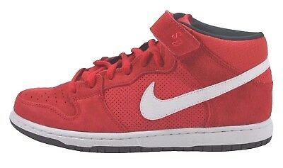 new concept ccd76 1a05b Nike DUNK MID PRO SB Hyper Red White Anthracite Discounted (233) Men s Shoes