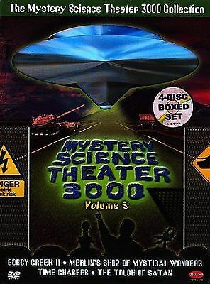 Mystery Science Theater 3000 Collection-Vol. 5 (DVD, 2004, 4-Disc Set) VERY GOOD