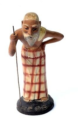 Genuine Antique Very Rare Collectible Old Man Figure Sinhala people. i43-1 US