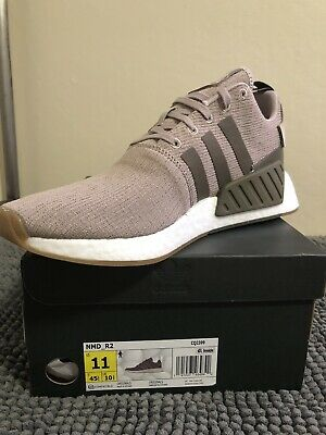 finest selection 71f04 2976d Adidas Originals Men s NMD R2 Size 11 Vapor Grey Taupe Running shoe