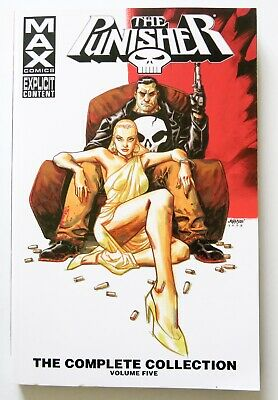 Punisher The Complete Collection Vol. 5 Max Graphic Novel Comic Book