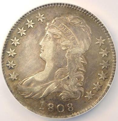 1808 Capped Bust Half Dollar 50C O-106 - NGC XF Details (EF) - Rare Coin