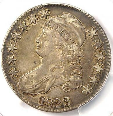 1823 Capped Bust Half Dollar 50C - PCGS XF45 (EF45) - Rare Certified Coin!