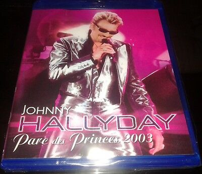 Pressage Russe Neuf Scelle Johnny Hallyday Blu Ray  Parc Des Princes 2003