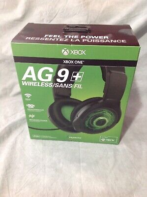 PDP Afterglow AG 9 Premium Black Headband Headsets for Microsoft Xbox BRAND NEW!