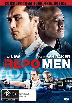 DVD MOVIE REPO MEN Jude Law Forest Whitaker Unrated AND