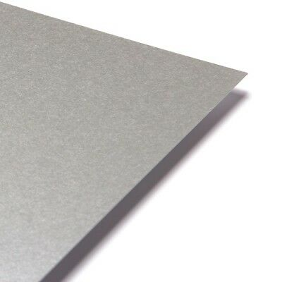 Pearlescent Paper A4 - Centura Pearl Shimmer Craft Paper Platinum Silver OFFER