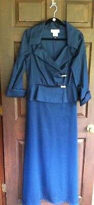 Cachet Formal Occasion Mother Of The Bride Long Dress Gown 12