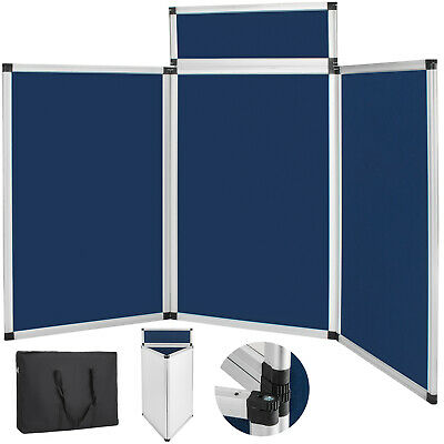 NEW Portable 3 Set Panel Exhibition Folding Display Board Stand Trade Show
