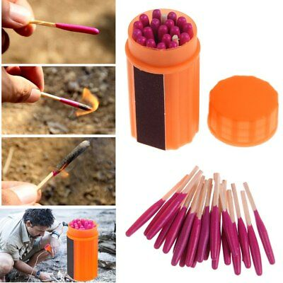 Windproof Waterproof Camping Survival Gear Extra-large Head First Aid Matches