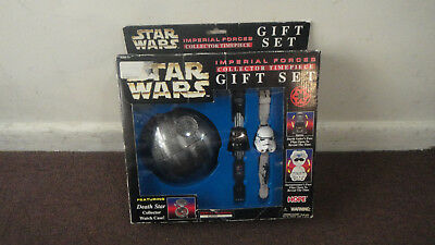 STAR WARS - Imperial Forces Collector Timepiece Gift Set, Serially #'d *RARE*