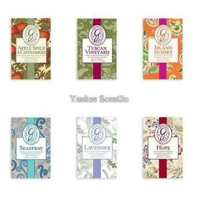 Greenleaf Small Scented Sachets Variety **FREE P&P**