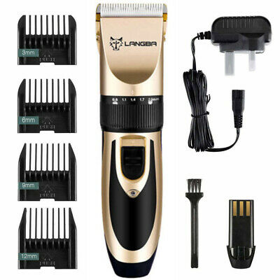 Professional Dog Clippers Cordless Pet Clipper Hair Shaver Grooming Trimmer Kits