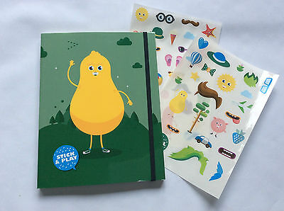 Lannoo A5Note book for children green