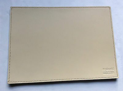 Pinetti Mouse pad 17 x 23 smooth leather cream