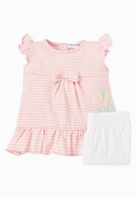Girls Minoti Dress & Legging Set Pink   2-3 Years