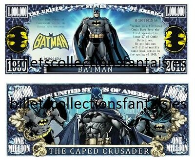 BATMAN . Comics  . Million Dollar USA . Billet de commémoration / Collection