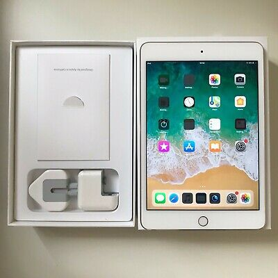 GRADE A- Apple iPad Mini 4 128GB, Wi-Fi + 7.9in, Gold