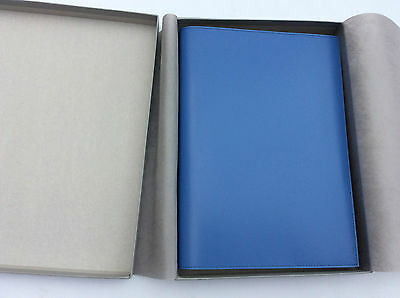 Pinetti  A4 Note book refillable plain blue
