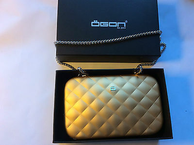 Ögon Design Quilted lady bag gold