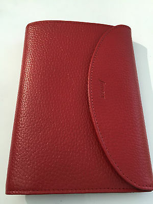 Filofax Finsbury Large Female Purse Red
