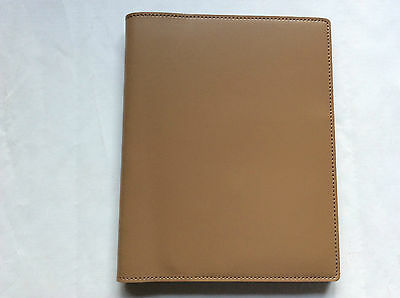 Pinetti Note pad A5 14,5X21 smooth leather toupe