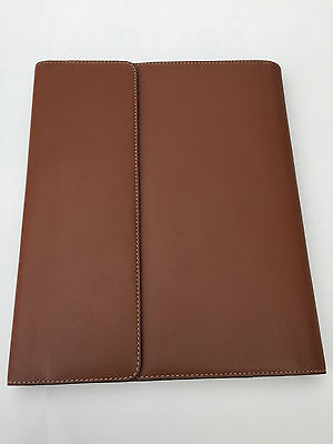 Filofax A5 flex Ipad case Natural leather tan