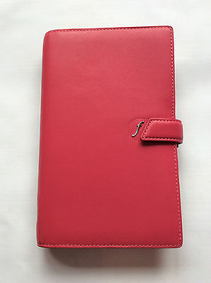 Filofax Compact Boston Crimson (pink)