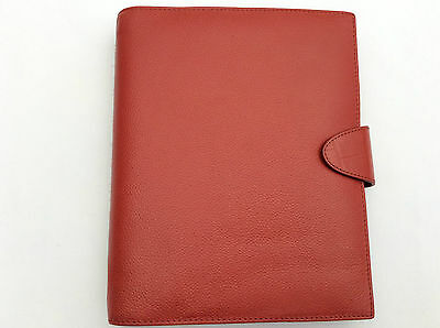 Filofax A5 Calipso Red